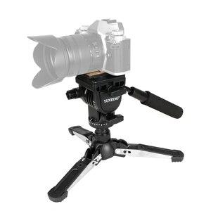 """Image 4 - Yunteng VCT 288カメラ一脚+流体なべ+一脚ホルダー用キヤノンニコンとすべてのデジタル一眼で1/4 """"マウント送料無料"""