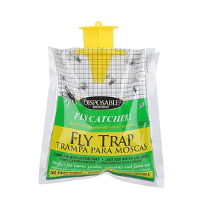 Image 3 - 5PCS Disposable Fly Trap Catcher Fly Catcher Insect Trap Hanging HOT Sale Pest Control convenient and  practical Household