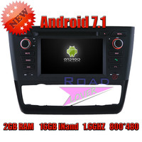 TOPNAVI 2G 16GB Android 7 1 Quad Core Car Media Center DVD Player For BMW 1