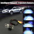 Car Intelligent Reversing Trajectory Tracks Camera Rear View Backup Parking For AUDI Audi A4 / S4 / RS4 2001~2008 / RCA NTST PAL