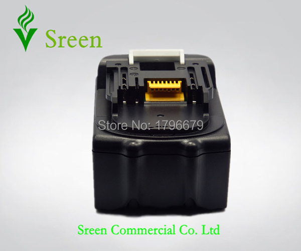Sreen 6000mAh Rechargeable Lithium Ion Battery Replacement for Makita 18V BL1850 BL1840 BL1830 BL1860 LXT400 Power
