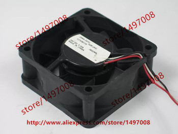 Nidec D06K-24TU 62B 24V DC 0.10A 3-Alambre de 60X60X25mm ventilador de refrigeración de servidor