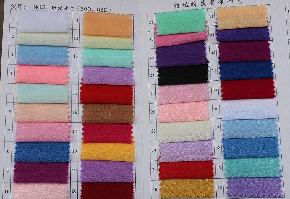 dobra kvaliteta 3 * 6m Svadbena svila Pozadina zavjese sastanak - Za blagdane i zabave - Foto 5