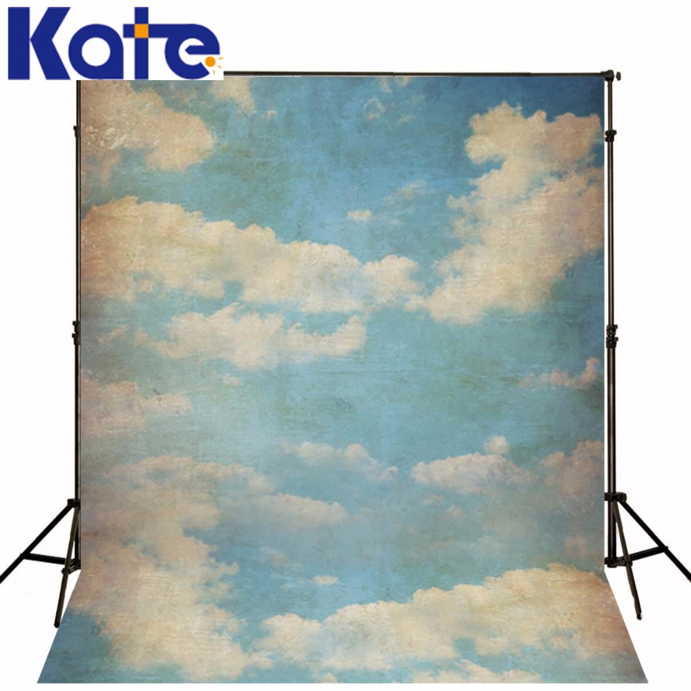 Kate 10x20 Photography Backdrop Studio Backdrop Baby 6.5X10Ft(200X300cm)3D Sky Photography Sky Background Nostalgia Photo Studio kate backdrop for photography fundo panlong vase wall 3d baby chines festival photography backdrop background for photo lk 2106
