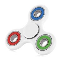Hot Multi Color Triangle Gyro Finger Spinner Fidget Plastic EDC Hand For Autism/ADHD Anxiety Stress Relief Focus Toys Gift