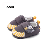 AAdct new Autumn Lovely Wolves Cartoon girls shoes soft sole Comfortable First Walkers baby shoes toddler Infant boys shoes