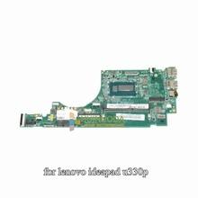 DA0LZ5MB8D0 REV:D 90003411 for lenovo ideapad U330P touch laptop motherboard i3-4010U HM86 GMA HD4400 DDR3L