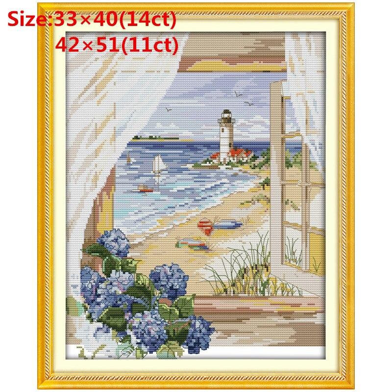 F646-02640 (2) cross stitch