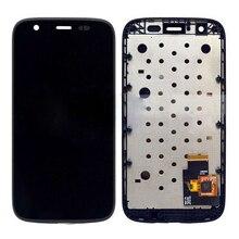 Для Motorola MOTO G XT1032 XT1033 ЖК-Дисплей С Сенсорным Экраном Дигитайзер Ассамблеи с рамкой Свободная Перевозка Груза