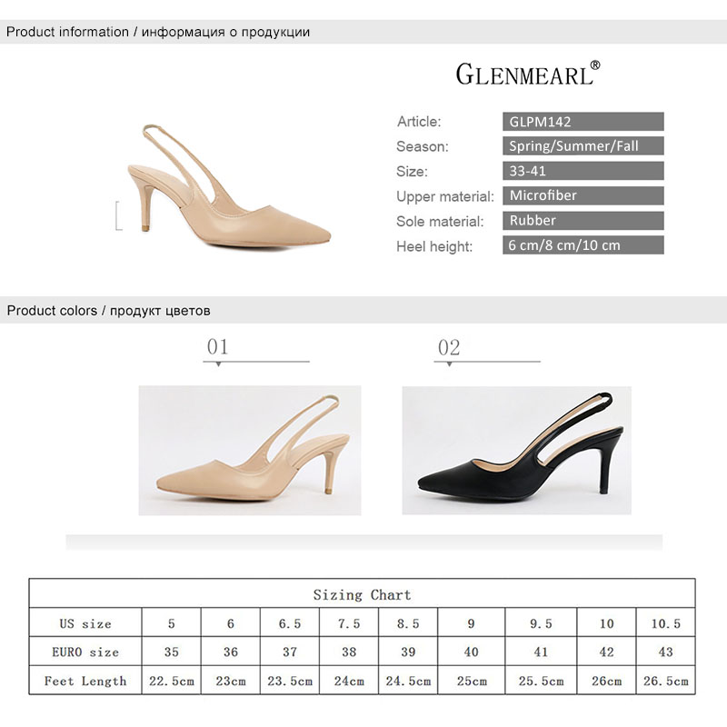 Women High Heels Shoes Pointed Toe Brand Female Pumps Spring Summer Wedding Shoes Thin Heels Ladies Shoe Plus Size 2019 DE in Women 39 s Pumps from Shoes