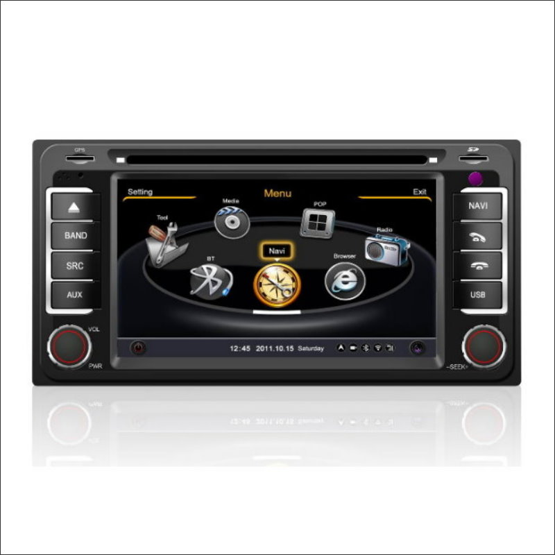 Para Toyota Camry 2001 ~ 2006 la Radio de Coche de Audio y Vídeo Estéreo CD Repr