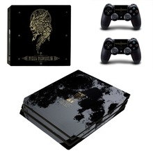 Game Final Fantasy XV PS4 Pro Skin Sticker Decal Vinyl for Playstation 4 Console and 2 Controllers PS4 Pro Skin