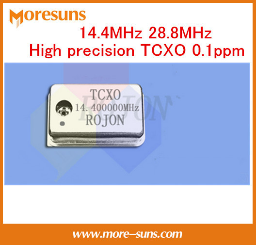 Livre o Navio de Alta precisão cristal oscilador 14.4 MHz 28.8 MHz ppm TCXO