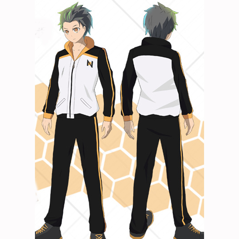 Cotton Unisex Anime Re Zero Starting Life In Another World Coats Jackets Fleece Costumes Cosplay For Woman Man Plus Size