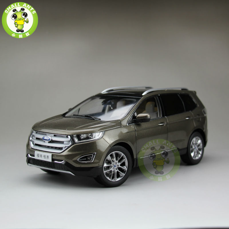 1:18 Scale China Ford EDGE Diecast SUV Car Model Toys for gifts collection hobby maisto jeep wrangler rubicon fire engine 1 18 scale alloy model metal diecast car toys high quality collection kids toys gift