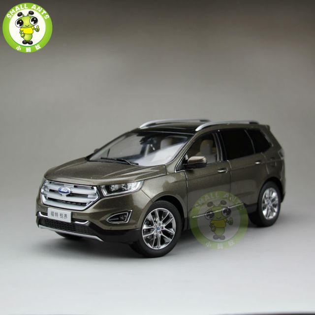 Scale China Ford Edgecast Suv Car Model Toys For Gifts Collection Hobby