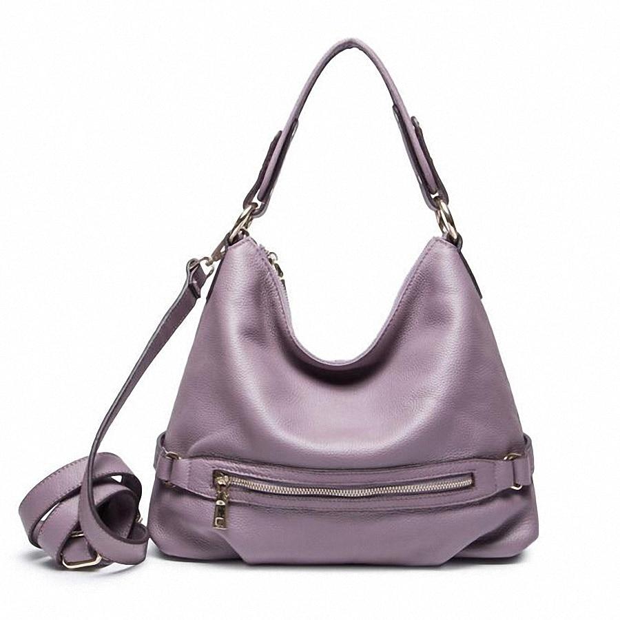 ФОТО ForUForM Casual Tote Women Shoulder Bags Genuine Leather Women Designer Brand Female Handbags bucket Crossbody Bags Sac LI-1715