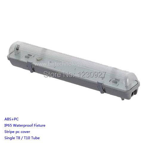 T8 Light Fixture 2ft: Single T8/T10 120cm/4ft IP65 Led Tube Light Fixture Tri