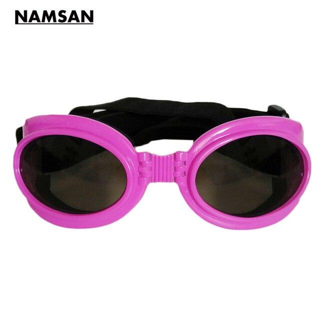 8289bee777 Namsan Doggles gafas de Sol Perro Mascota Impermeable a prueba de Viento UV  Gafas FashionPets Accessaries. Sitúa el cursor encima para ...