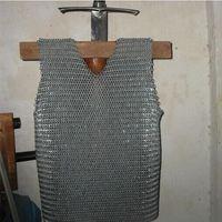 Обычный параграф chainmail мягкий Ежик броня/анти удар жилет/stab устойчивая одежда/мягкая защита
