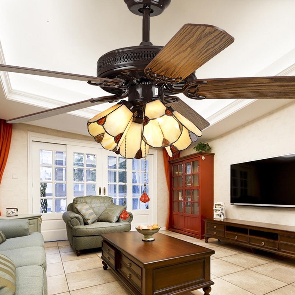 110V/220V 48inch Luxury Modern Chandelier Ceiling Fans ...