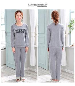 Image 2 - ホーム服の女性パジャマツーピース 2019 新スパースタープラスサイズ綿パジャマセット女性パジャマかわいいナイトスーツナイトウェア