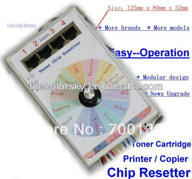 (CS-V13) universal omnipotent toner cartridge chip resetter for xerox for samsung for minolta for sharp for epson for ricoh cs dx18 universal chip resetter for samsung for xerox for sharp toner cartridge chip and drum chip no software limitation