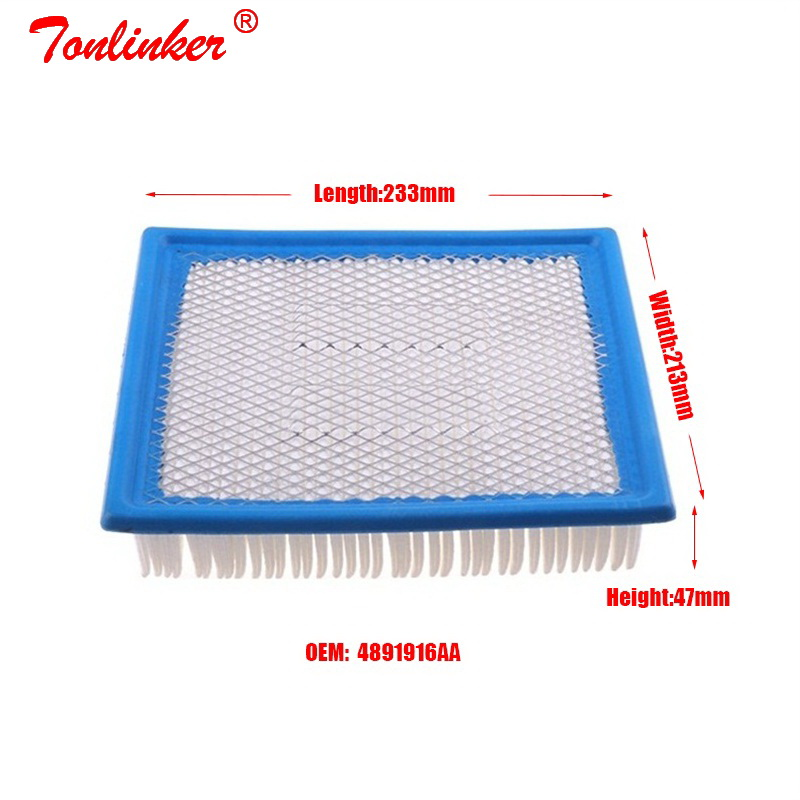 Image 5 - Car Air Filter 1Pcs For Dodge Avenger 2007 2019 /Journey/Chrysler Sebring /Fiat Freemont/Lancia Flavia Convertible 2012 14 Model-in Air Filters from Automobiles & Motorcycles