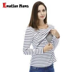 Emotion Moms Fashion pregnancy Maternity Clothes Maternity Tops/T-shirt Breastfeeding shirt Nursing Tops for pregnant women