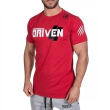 2016 RISE Fitnesse T Shirt men Printing Bodybuilding Short sleeve poleras hombr moda Fashion O Neck camiseta masculina