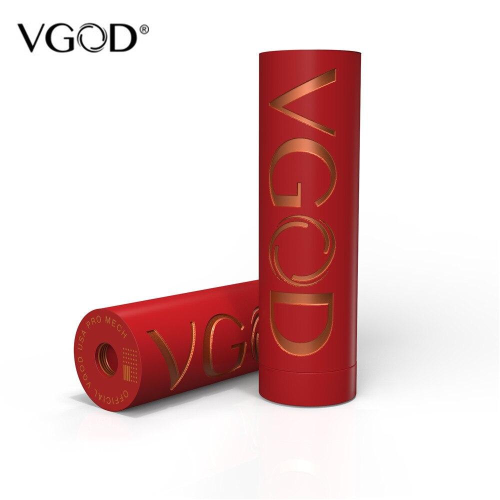 VGOD Pro Mech cigarette électronique Mod Boîte Mécanique Mod Alimenté par Unique 18650 Batterie Fit Pro Goutte À Goutte RDA VS Elite Mech Batterie - 5
