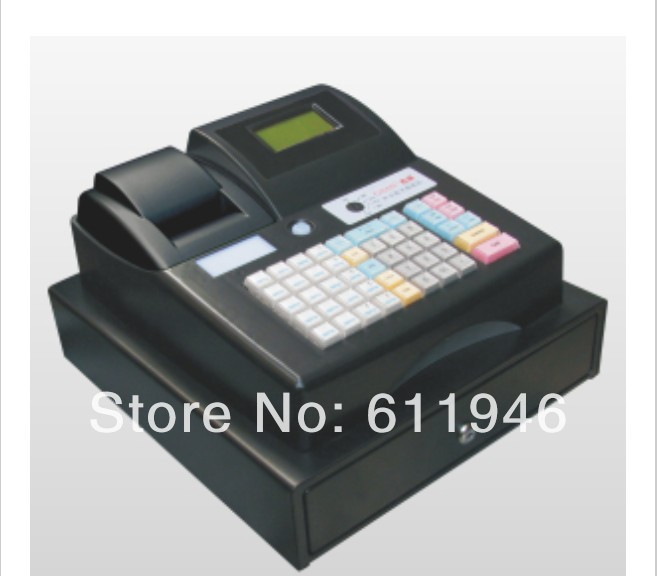 GS-686E Electronic Cash Register pos cash register c 50 electronic cash registers cash register pos cash register 8v multifunctional catering cash register for supermarket milktea