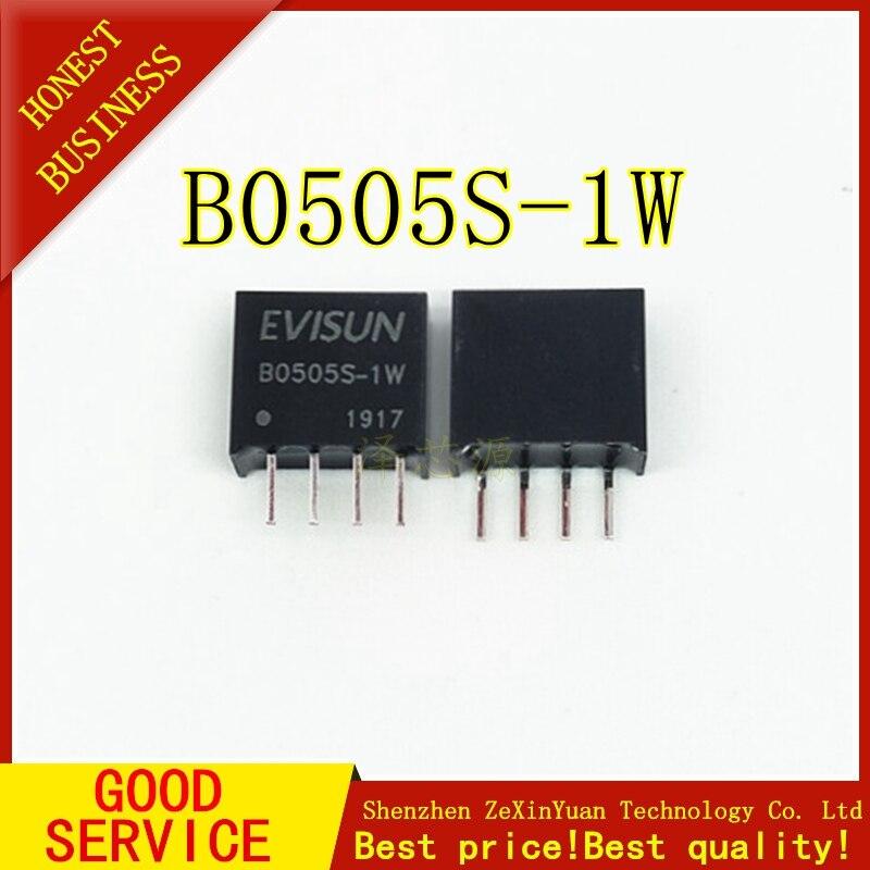 5PCS  B0505S-1W B0505S DC-DC SIP4 New