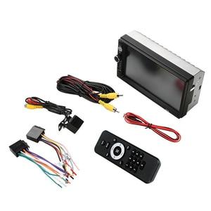 Image 5 - 7 אינץ רכב MP4 MP5 נגני מרכזי מולטימדיה מגע מסך ראיית לילה מבט אחורי מצלמה Bluetooth אוטומטי רדיו Fm וידאו נגן