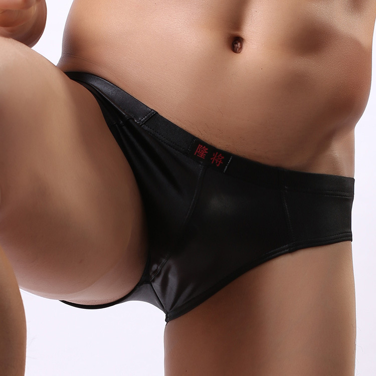 Aliexpress.com : Buy Best Quality Sexy Men Leather Briefs Shorts ...