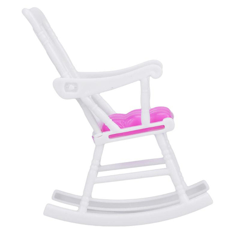 Rocking Chair Accessories Mini Doll for Doll Room Decoration Dollhouse Furniture Children Girls Toy Gift Accessories