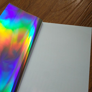 Image 2 - 30 แผ่น A4 กาวธรรมดาโฮโลแกรม PP ฟิล์มสติกเกอร์ป้ายพิมพ์โลโก้ 210 มิลลิเมตร x 290 มิลลิเมตรฟิล์มเลเซอร์