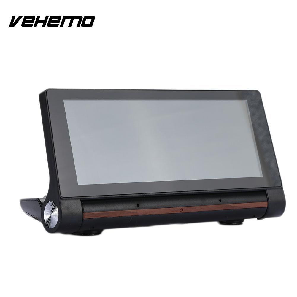 VEHEMO HD Dual Lens Radio FM DVD Player DVR Camera G-Sensor s