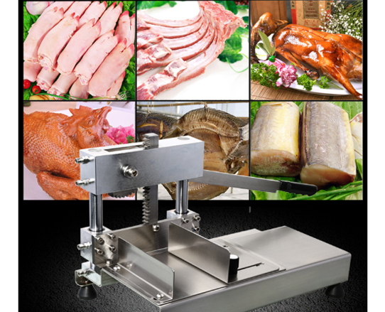 Slicer Lamb Rolling Machine Frozen Meat Slices Tool Stainless Steel Fruit Vegetable Chip Utensil Steak Cutting Knife