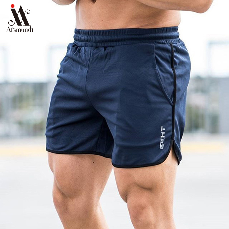 e5c1696af62b Pantalones cortos deportivos para hombre, para verano, para entrenamiento,  para hombre, de malla ...