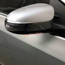 (Для зеркала с указатели поворота) 2 * abs внешний боковой двери вида боковое зеркало Молдинги для Toyota C-HR chr 2016-2017