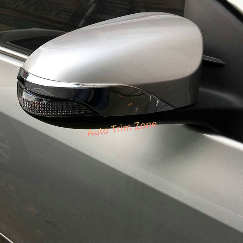For The Side Mirror With Turn Signals 2 Abs Outer Door Side View Wing Mirror Mouldings For