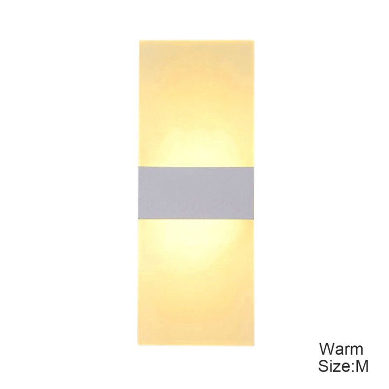 New Modern LED Wall Light Up Down Cube Indoor Outdoor Sconce Lighting Lamp Fixture 2018