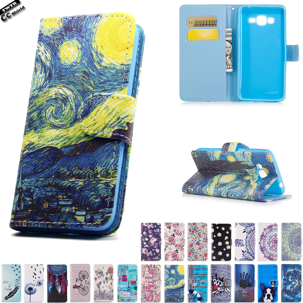 Flip Case for Samsung Galaxy J2 PRIME J 2 PRIME SM-G532 soft Case Phone Leather Cover for SM-G532F SM-G532M SM-G532F/DS silicone ...