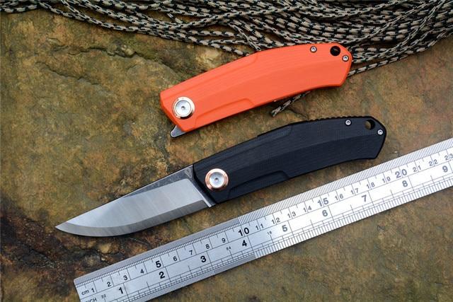 STEDEMON Vouking G02 flipper mes 12C27N blade G10 handvat kogellager washer outdoor camping jacht zakmes