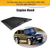 En Fiber De carbone Auto Moteur Couvercle de Capot Avant pour Mercedes Benz G-CLASS W463 G500 G550 G55 G63 AMG 2004-2017