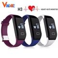 Original H3 Smart Bracelet Waterproof Wristband Heart Rate Monitor Bluetooth 4.0 Passometer Sports Fitness Tracker Smartband