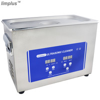Limplus High Quality Cheap Digital Ultrasonic Cleaner 4.5L Home Appliance Ultrasonic Washing Machine with CE certificated