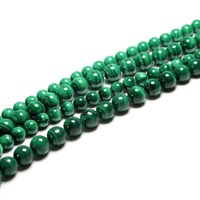 AAA Natural Top Grade Malachite Semi Precious Stone Beads For Jewelry Making DIY Material 4 6