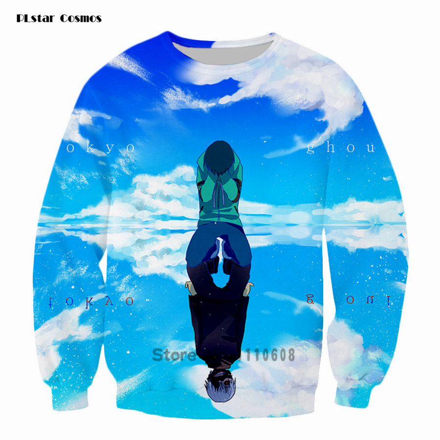 PLstar Kids Harajuku Sweatshirts Classic anime Tokyo Ghoul sweats clothing Ghoul 3d Print Men Women Pullovers Outwear tops 5XL